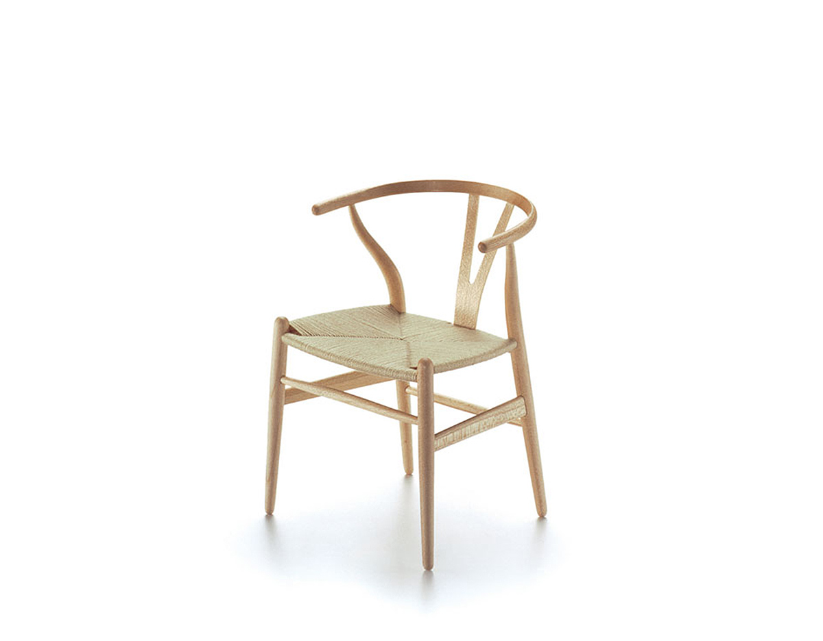 Miniature wishbone chair for Mini designer chairs