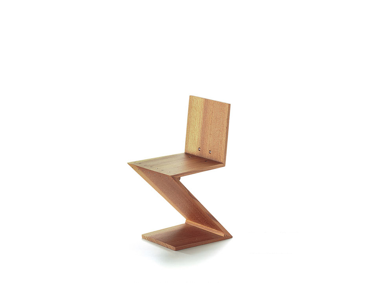 Miniature zig zag chair for Mini designer chairs