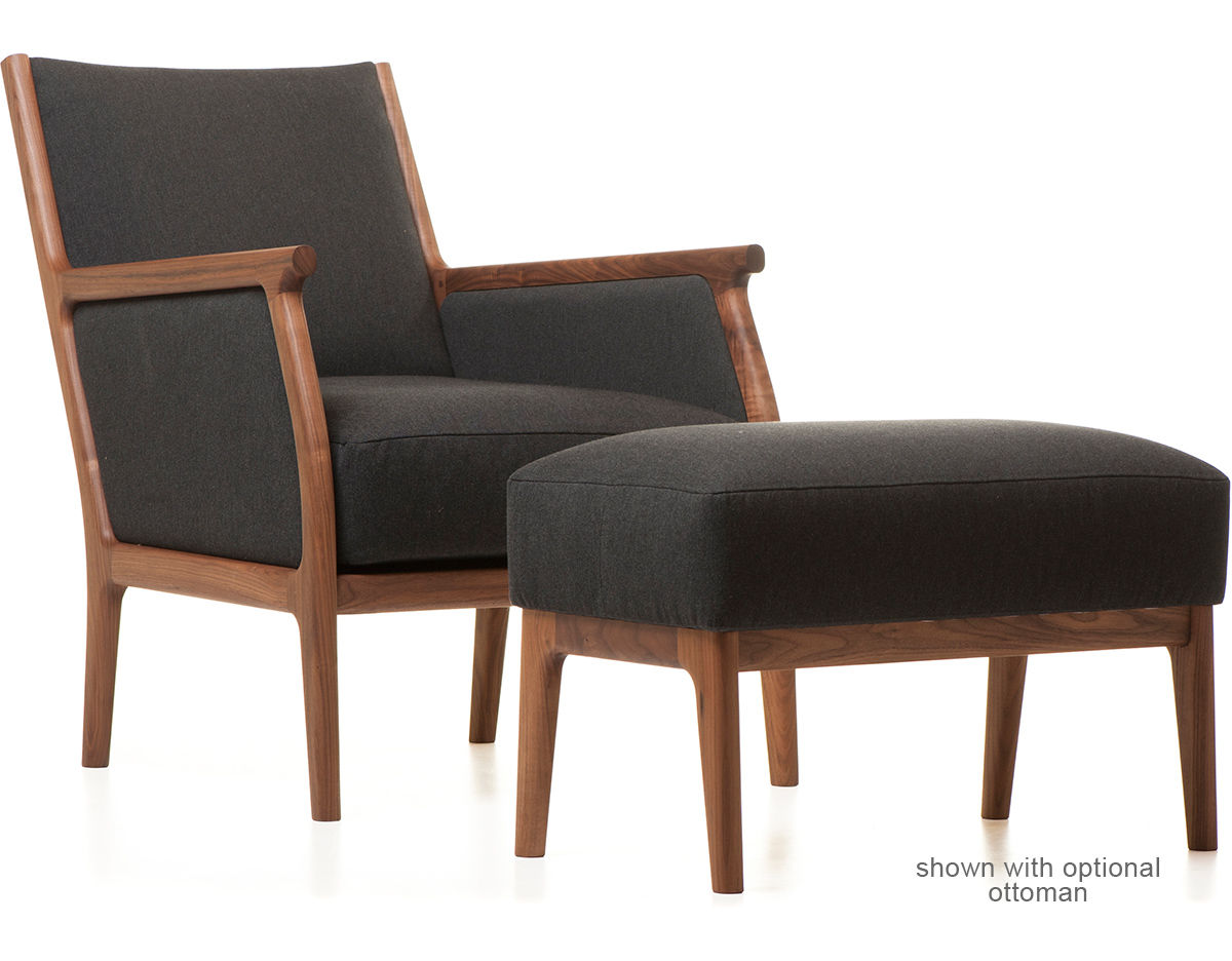 Bergere chair and ottoman - Overview