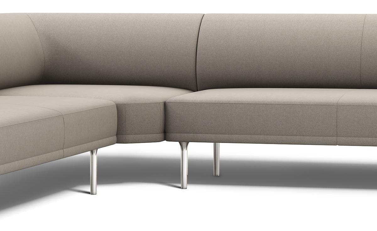 Mirador Sectional Sofa - hivemodern.com