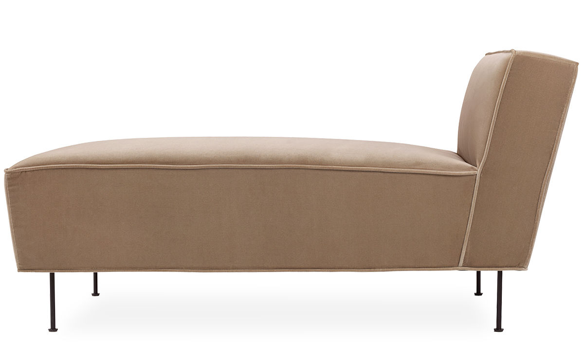 Modern line chaise longue for Chaise longue moderne