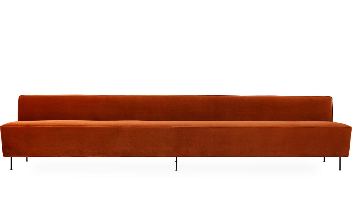 Modern Line Dining Height Sofa 350