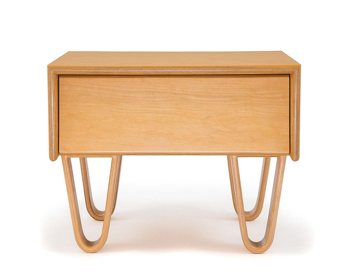 Bedside Desk modernica case study® bentwood bedside table - hivemodern