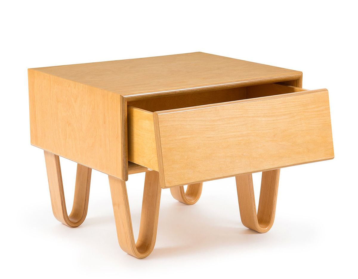 Modernica Case Study Bentwood Bedside Table hivemodern