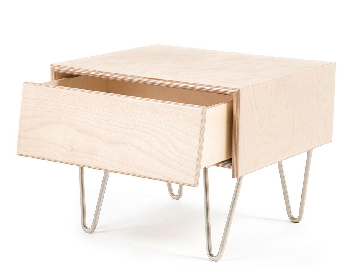 Modernica Case Study V Leg Bedside Table