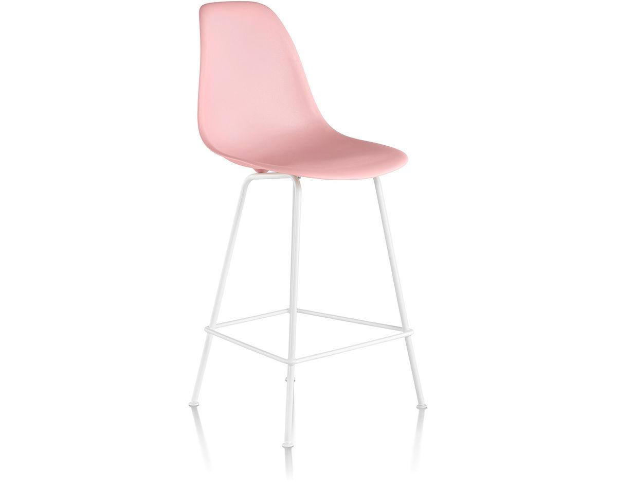 Herman Miller Eames Molded Plastic Chair eames® molded plastic stool - hivemodern