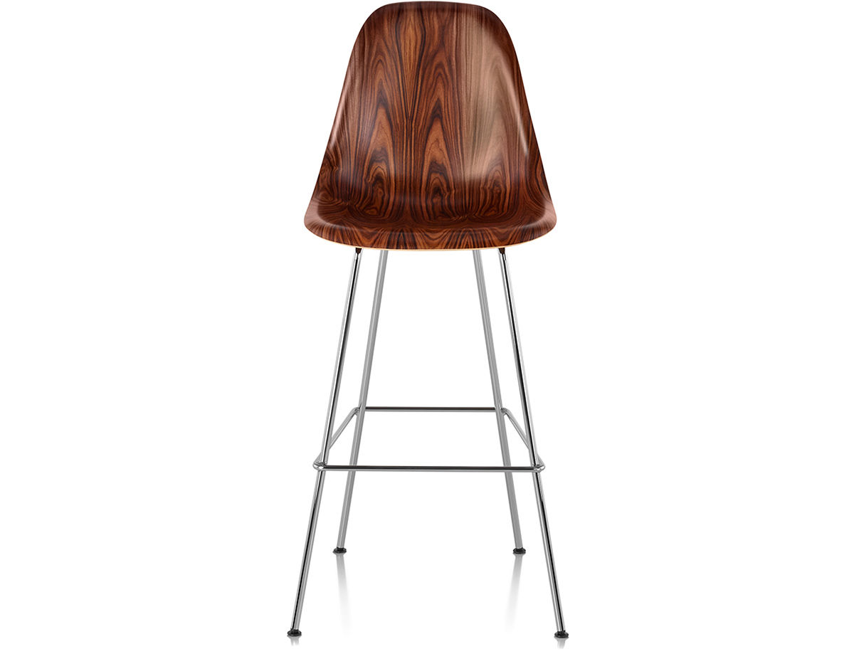 Eames 174 Molded Wood Stool Hivemodern Com