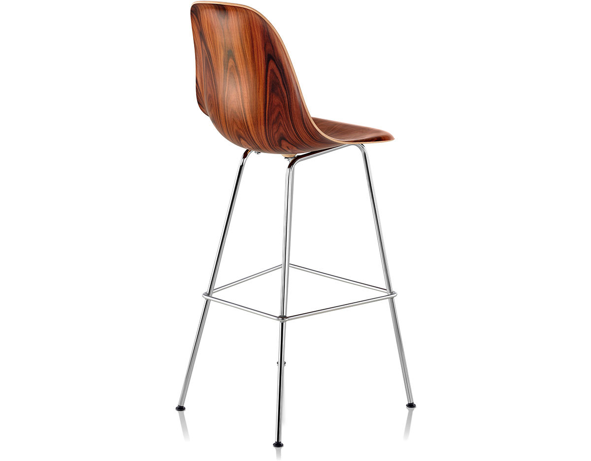 eames molded wood stool. Black Bedroom Furniture Sets. Home Design Ideas
