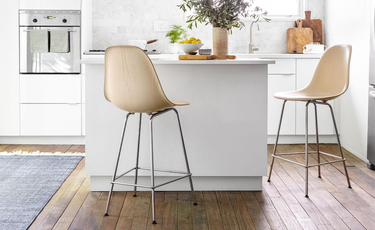 Fine Eames Molded Wood Stool Machost Co Dining Chair Design Ideas Machostcouk