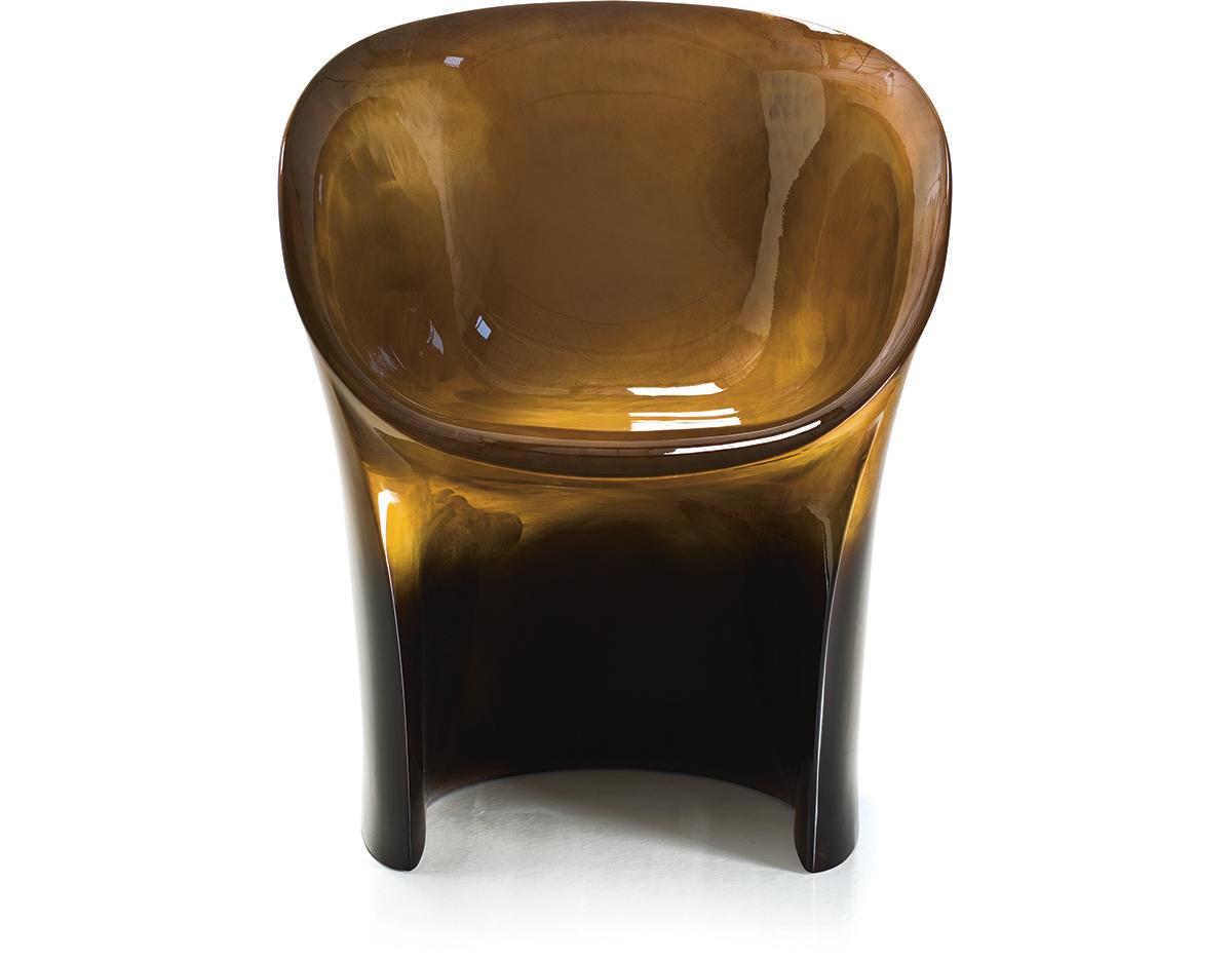 Moon Chair moon small armchair - hivemodern