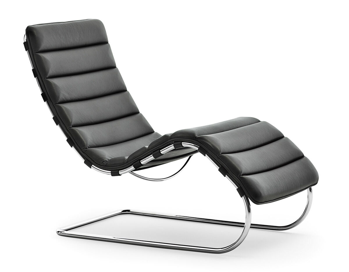 Design Mies Van Der Rohe.Mr Chaise Lounge