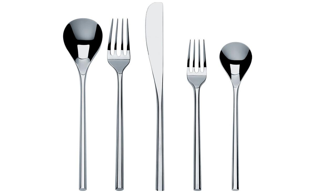 Mu 5 piece cutlery set - Alessi dinnerware sets ...