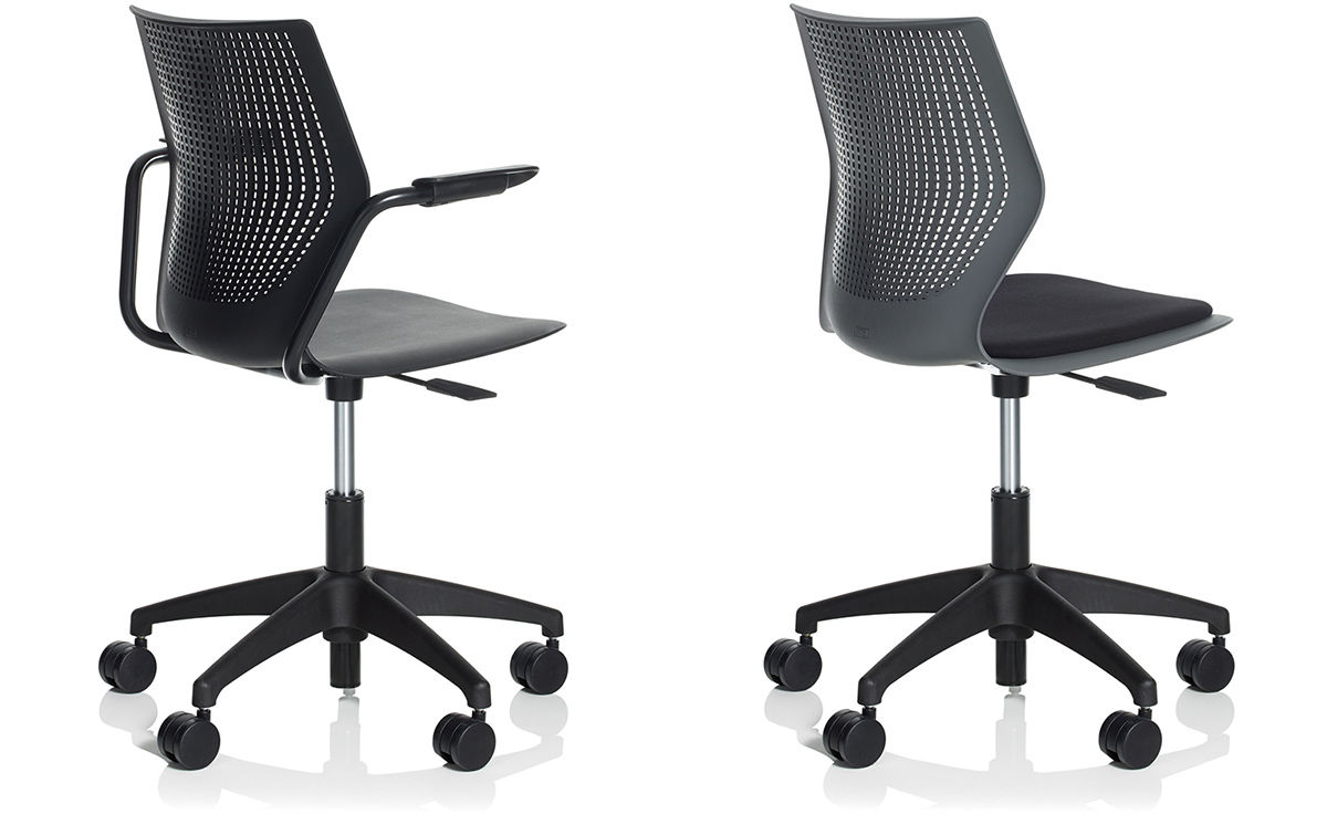 Multigeneration Light Task Chair With 5 Star Base