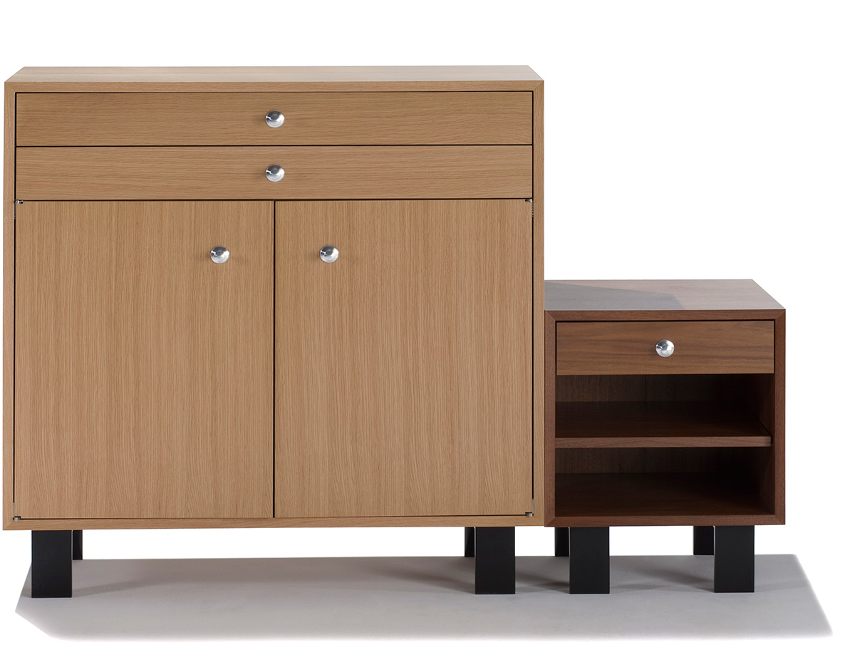 Nelson Basic Cabinet With 2 Drawers Over 2 Doors