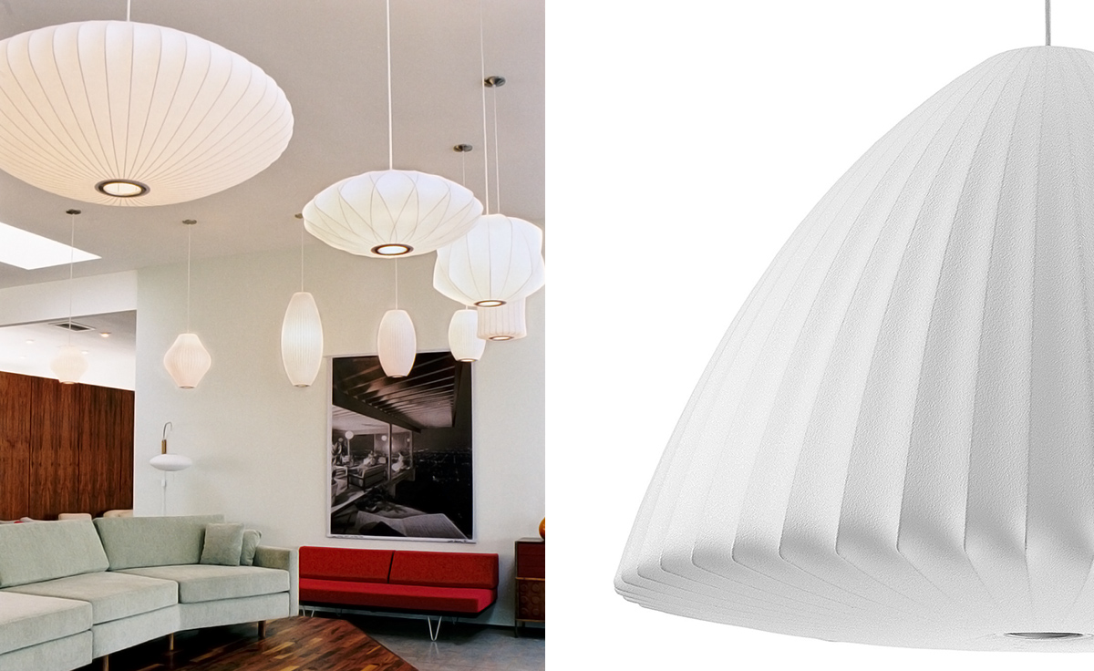 Nelson™ Extra Large Bell Bubble Lamp - hivemodern.com