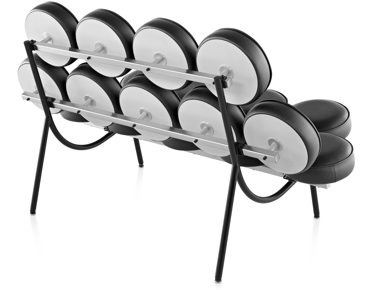 george nelson™ marshmallow sofa  hivemoderncom - overview