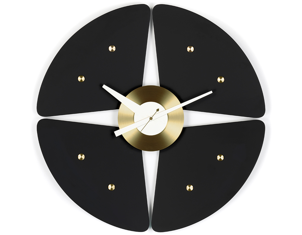 George nelson petal wall clock hivemodern overview amipublicfo Images