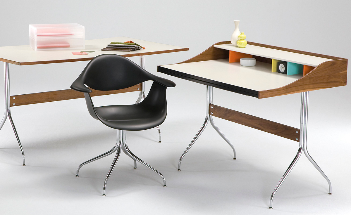 Nelson Swag Leg Desk Hivemodern Com