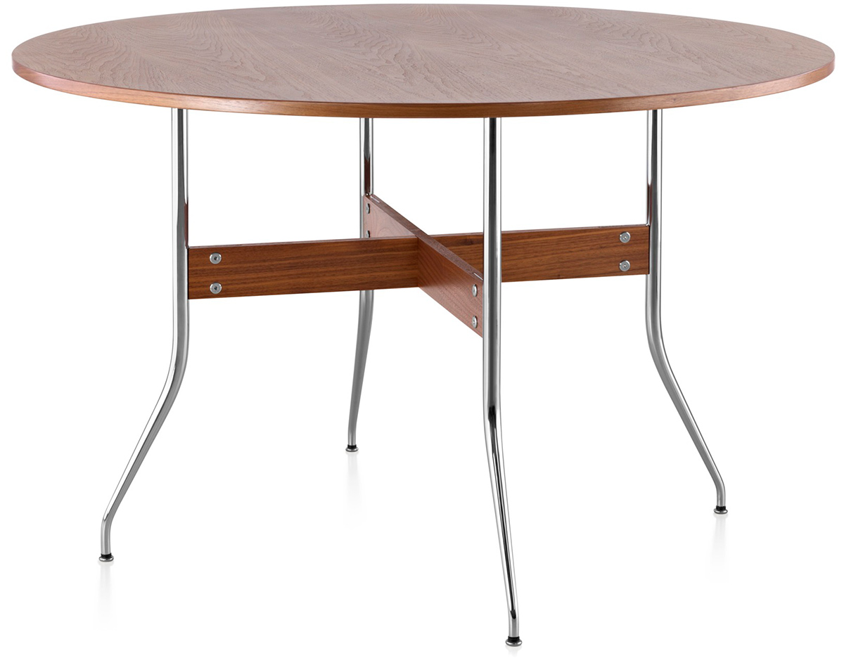 Nelson swag leg round dining table for Nelson swag leg table