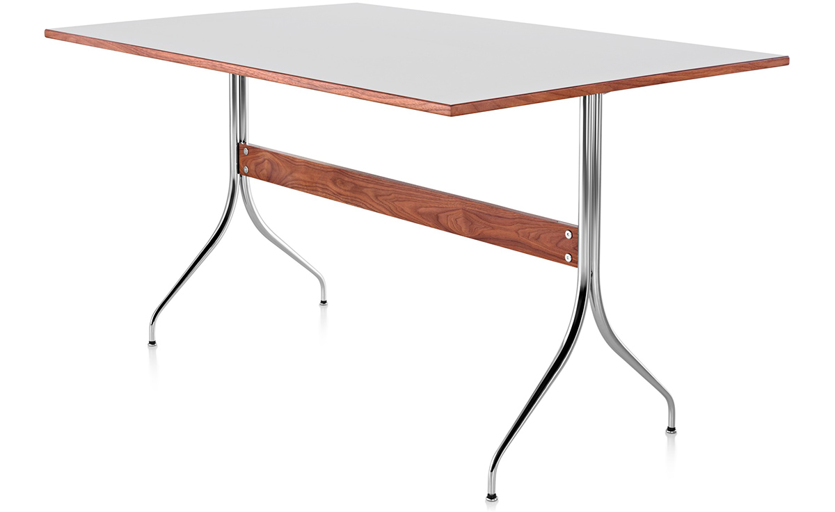 Nelson™ Swag Leg Rectangular Work Table Amazing Pictures