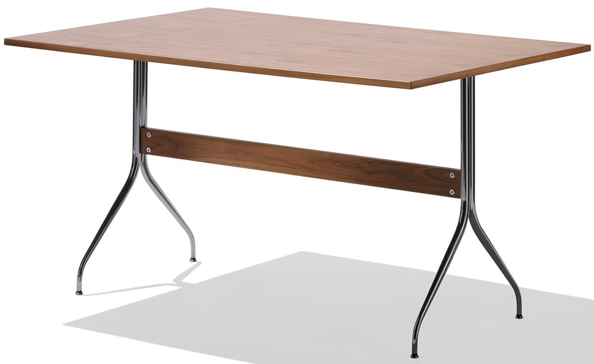 Nelson Swag Leg Rectangular Work Table Hivemodern Com