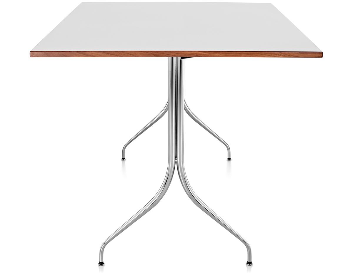 Nelson™ Swag Leg Rectangular Work Table - hivemodern.com