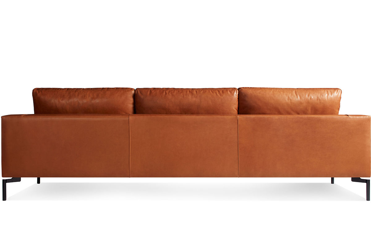 New Standard 104 Quot Leather Sofa Hivemodern Com
