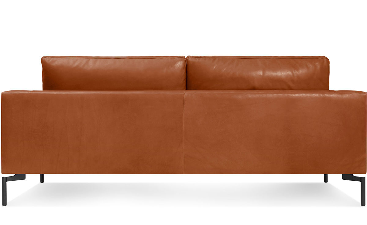 Full Aniline Leather Sofa Images Cherry Red