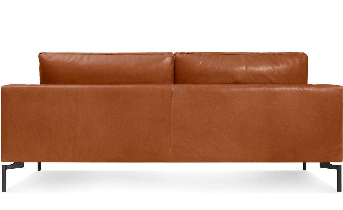 New Standard 78u0026quot; Leather Sofa - hivemodern.com