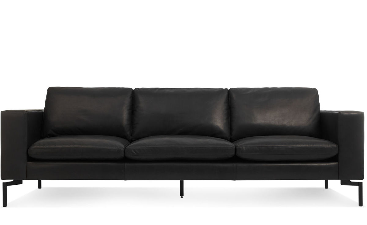 New Standard 92 Quot Leather Sofa Hivemodern Com