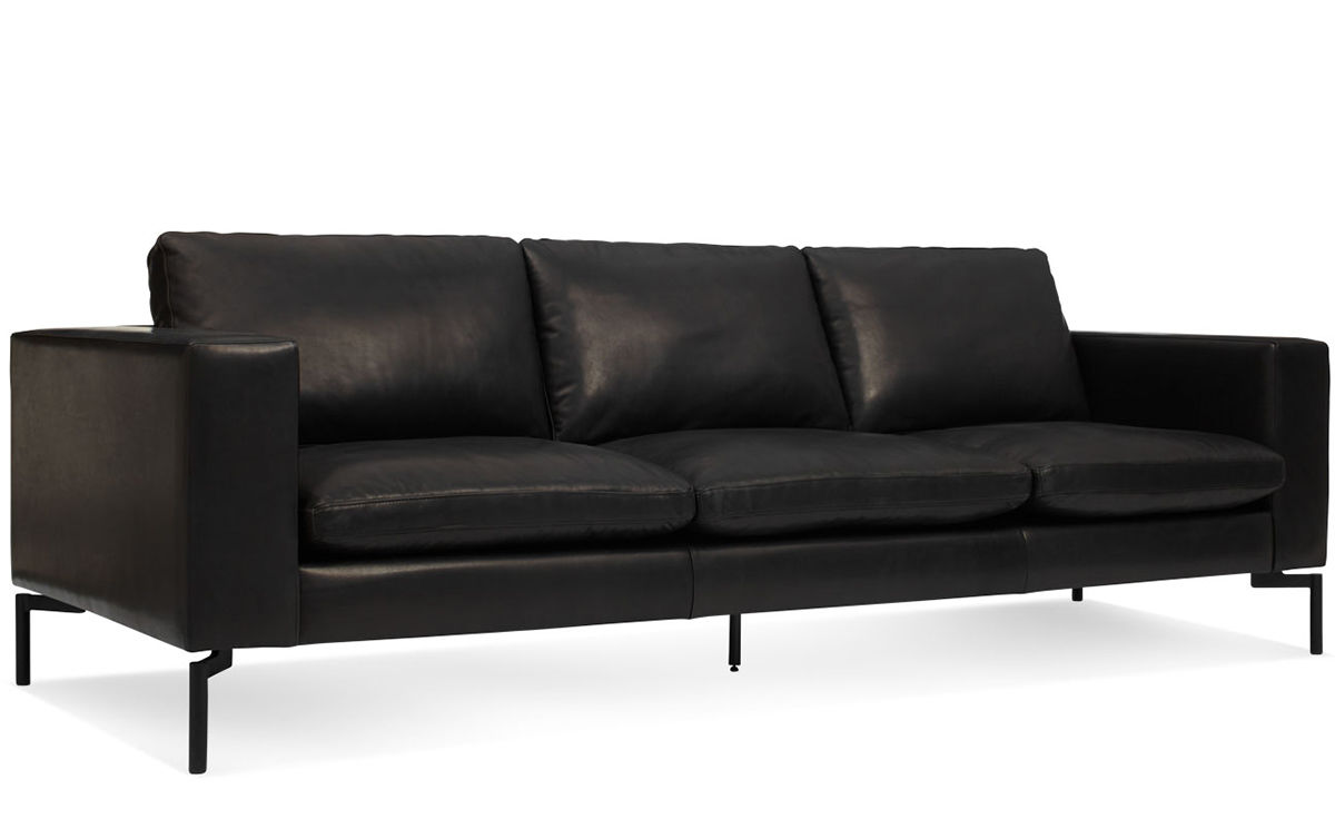 100 black and grey leather sofa interesting for Black and grey sofa
