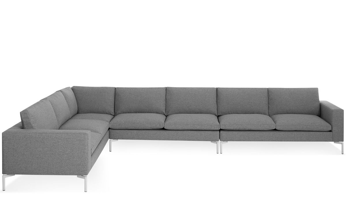 New Standard Large Sectional Sofa  sc 1 st  Hive Modern : blu dot sectional - Sectionals, Sofas & Couches
