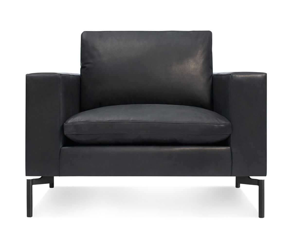 New Standard Leather Lounge Chair Hivemodern Com