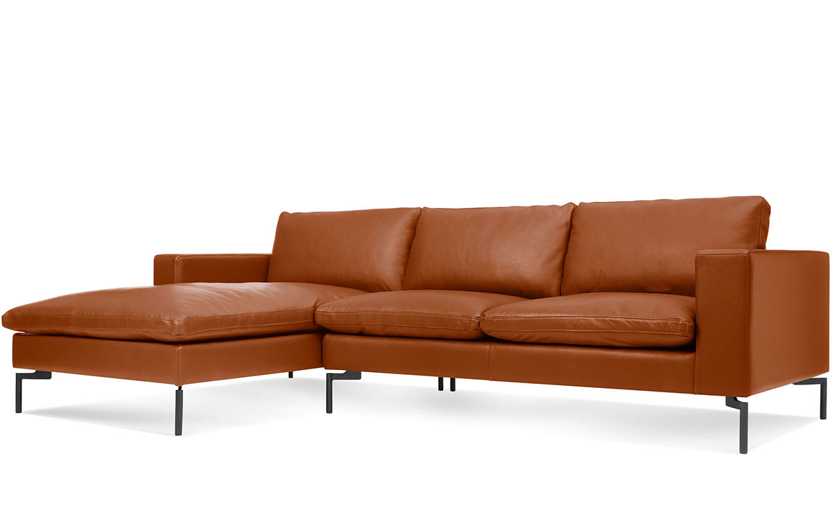 Sofa With A Chaise Klaussner Folio Sofa With Reversible