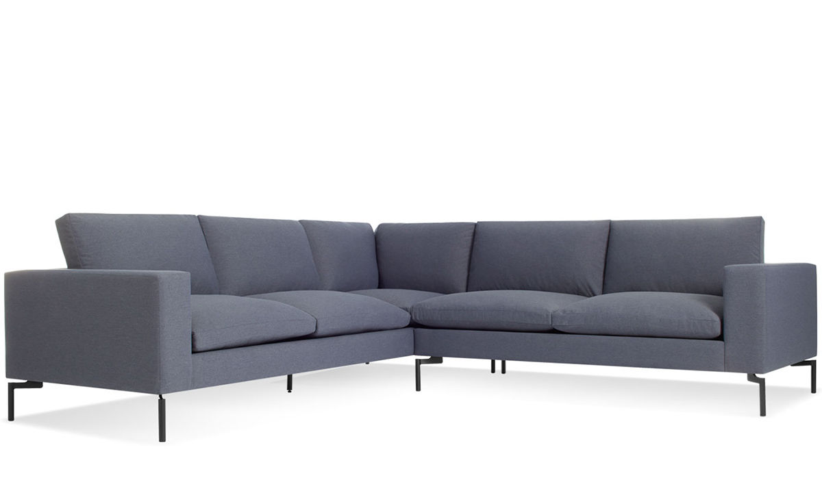 Picture of: New Standard Small Sectional Sofa Hivemodern Com