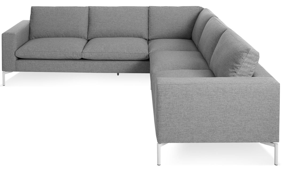 New standard small sectional sofa Small modern sofa