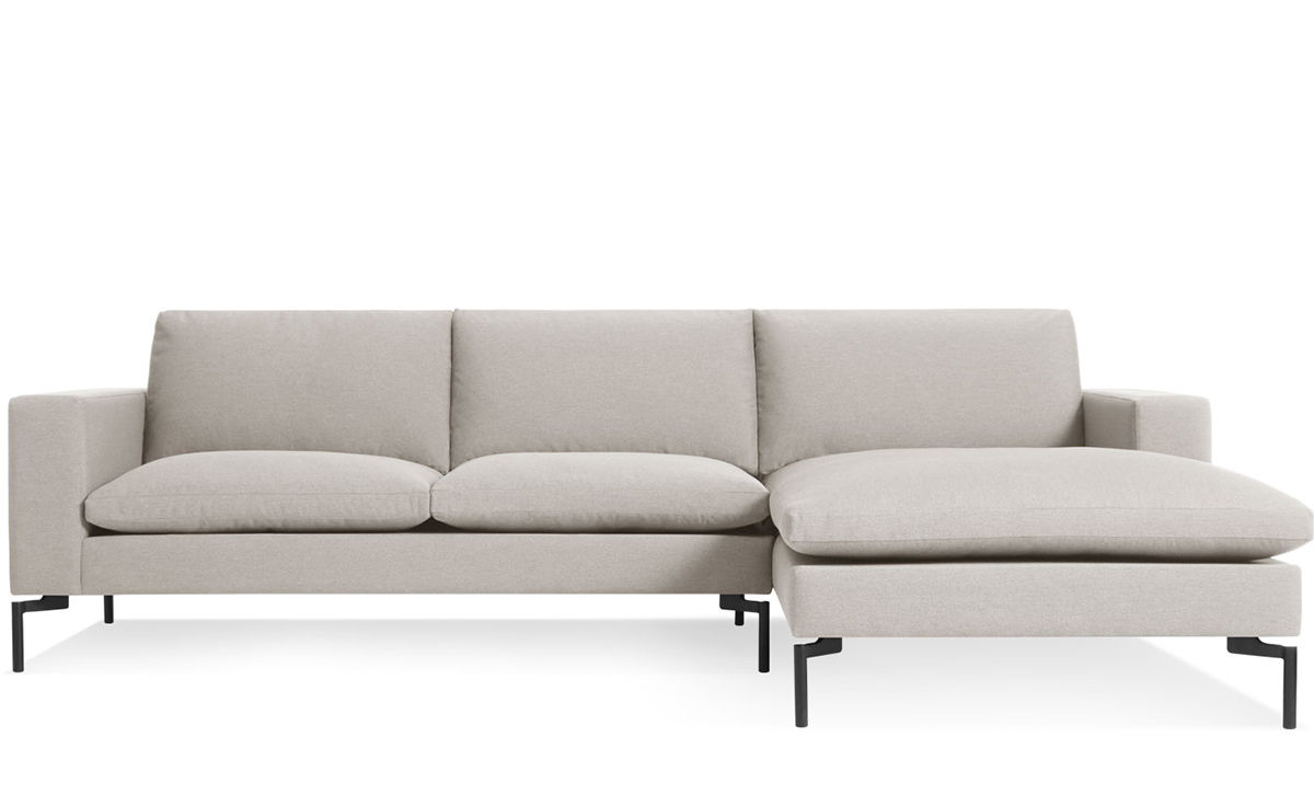 New Standard Sofa With Chaise Hivemodern Com