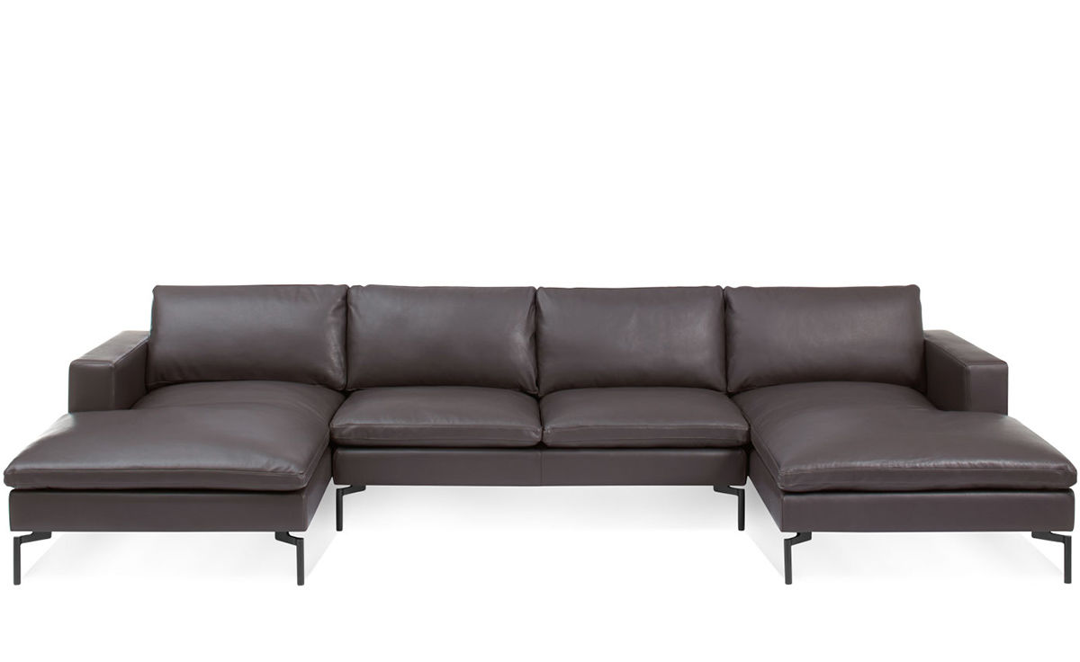 New Standard U Shaped Leather Sectional Sofa hivemoderncom : new standard u shaped leather sectional sofa blu dot 3 from hivemodern.com size 1200 x 736 jpeg 50kB
