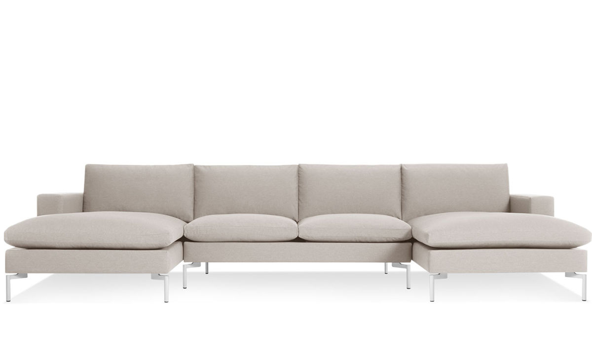 New standard u shaped sectional sofa for Sectional couch