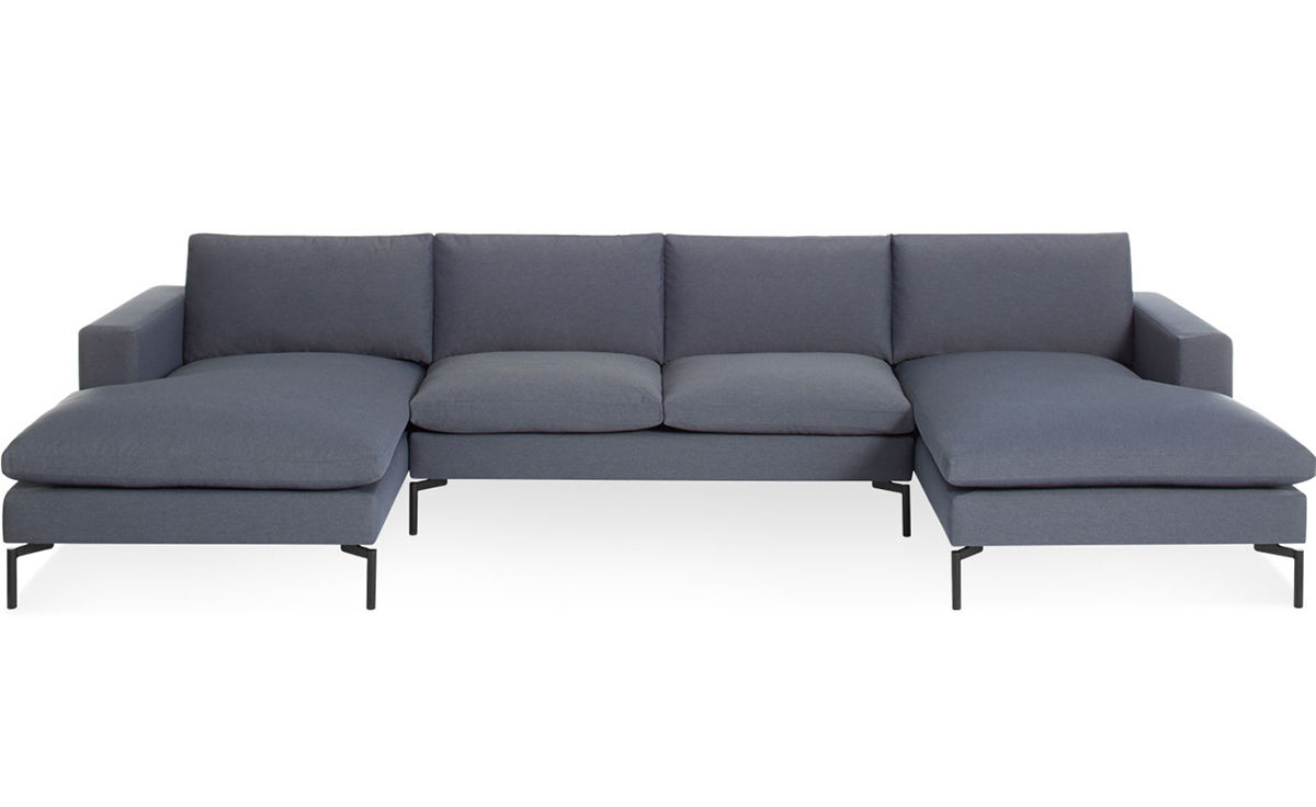 New Standard U Shaped Sectional Sofa hivemoderncom