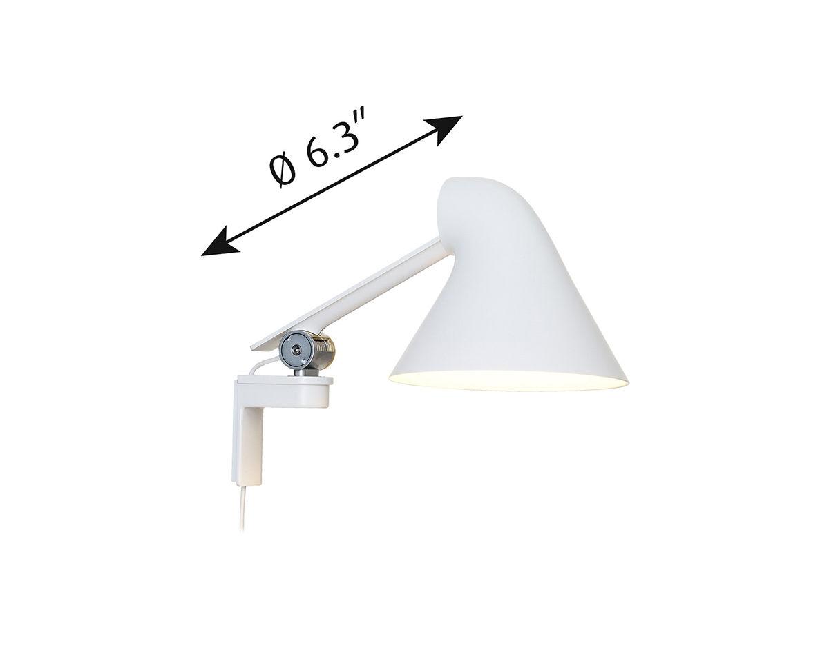 Njp Short Wall Lamp Hivemodern Com