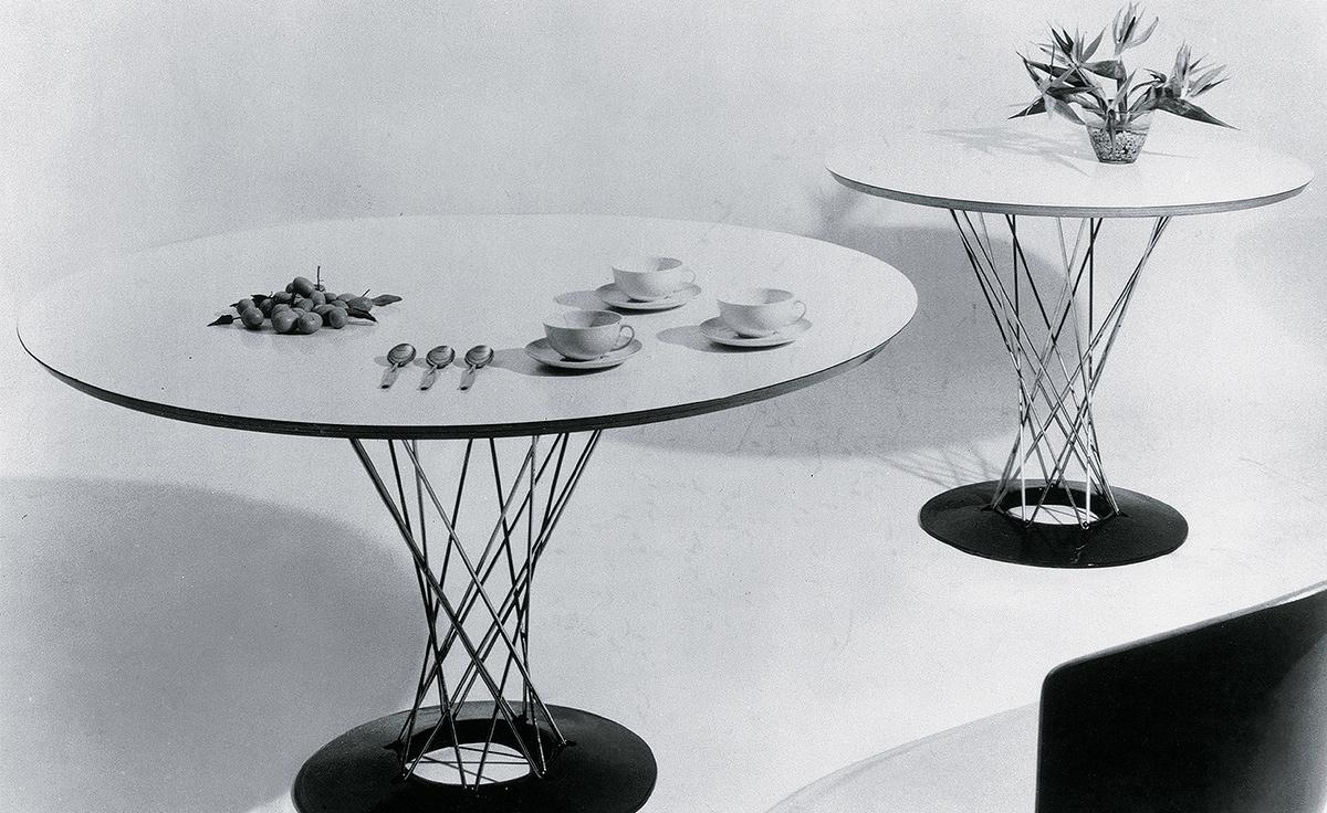 Noguchi Cyclone Side Table hivemoderncom