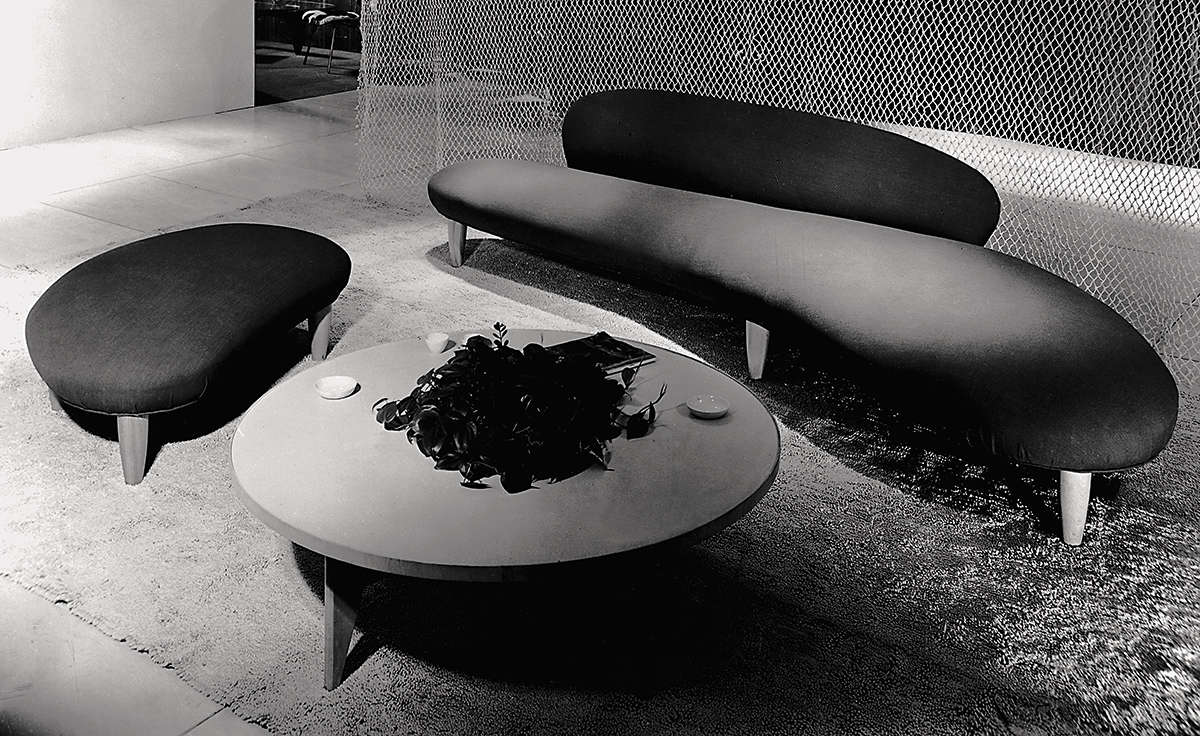 Noguchi Freeform Sofa Hivemodern Com