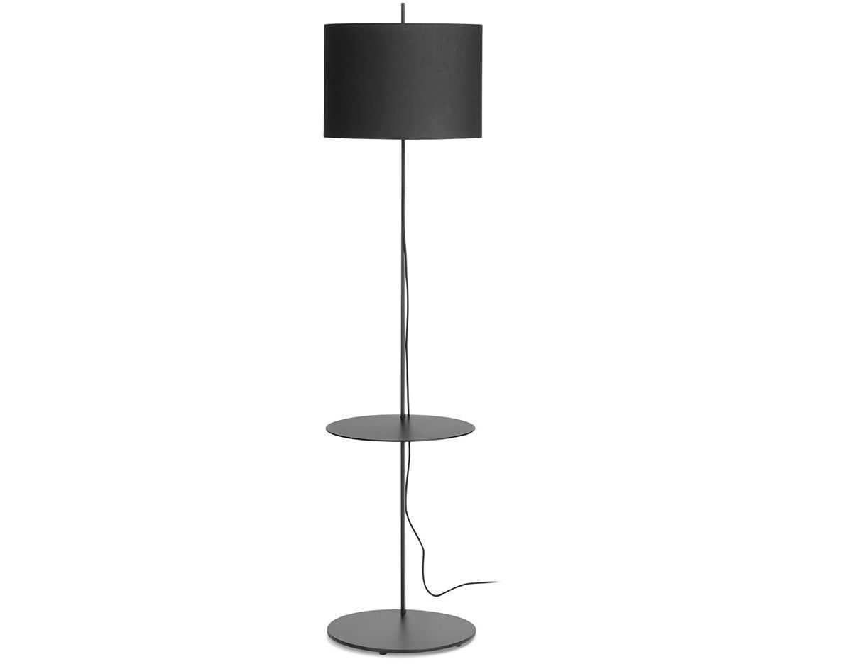 note floor lamp with table. Black Bedroom Furniture Sets. Home Design Ideas