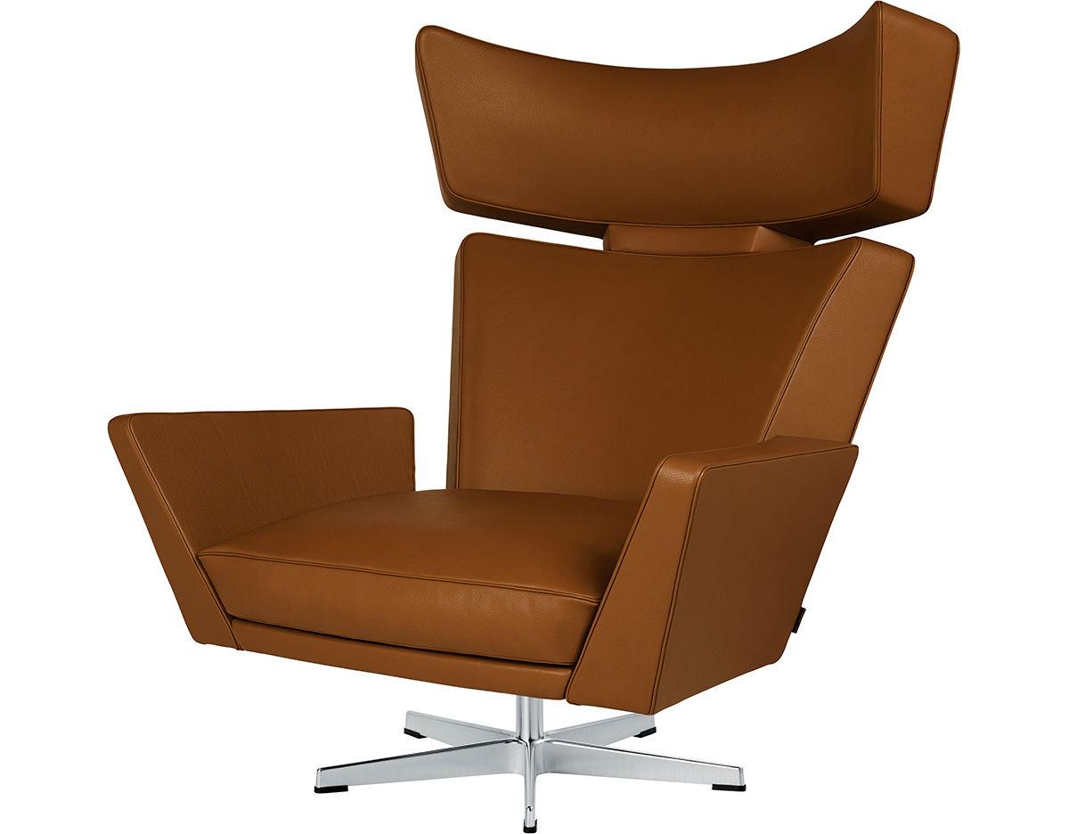 Arne Jacobsen Oksen Lounge Chair Hivemodern Com