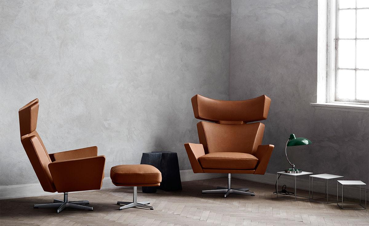 Arne jacobsen oksen lounge chair for Chaise arne jacobsen