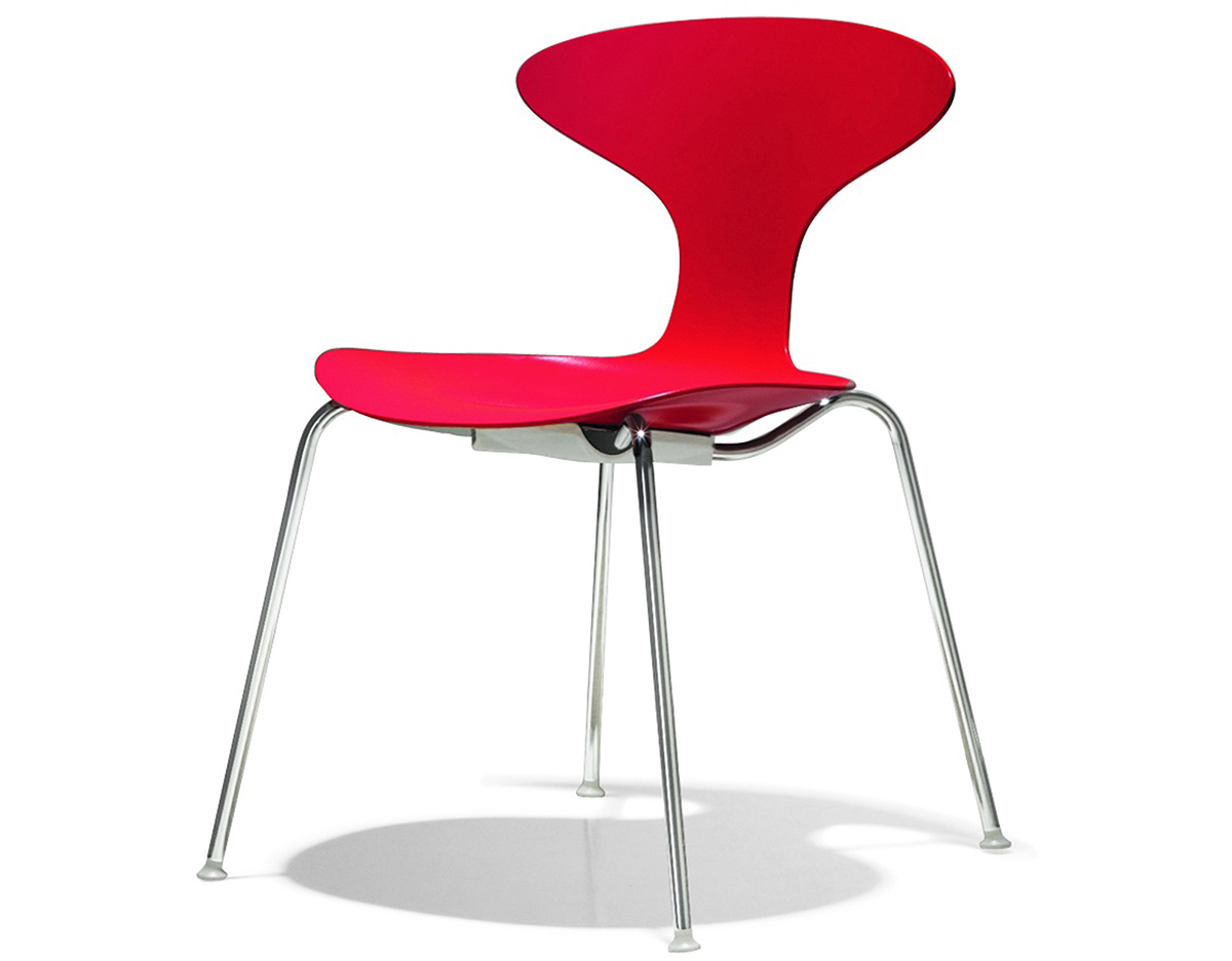 Orbit Plastic Stacking Chair hivemoderncom : orbit plastic stacking chair ross lovegrove bernhardt design 1 from hivemodern.com size 1200 x 936 jpeg 114kB