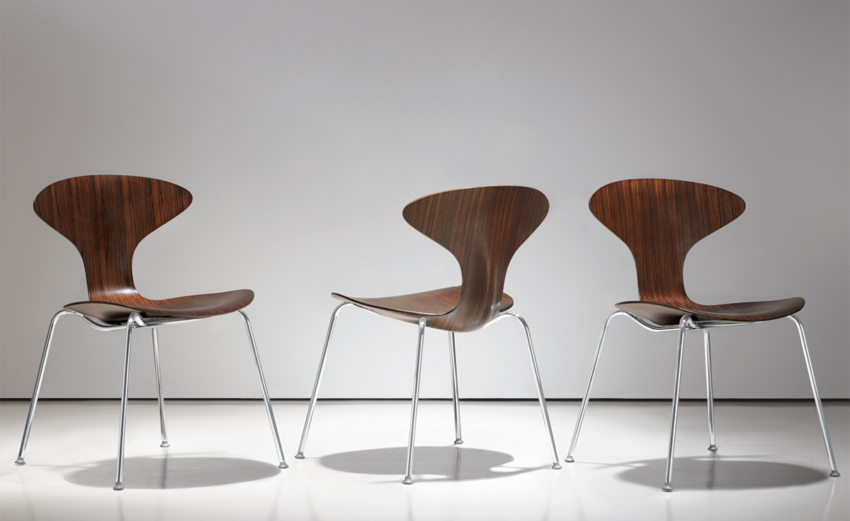 Attrayant Orbit Wood Stacking Chair