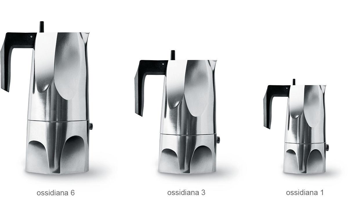 Ossidiana Stovetop Espresso Coffee Maker Hivemodern Com