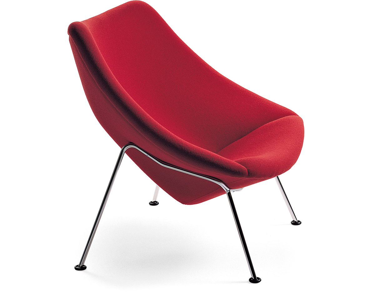 Launge Chair oyster lounge chair - hivemodern